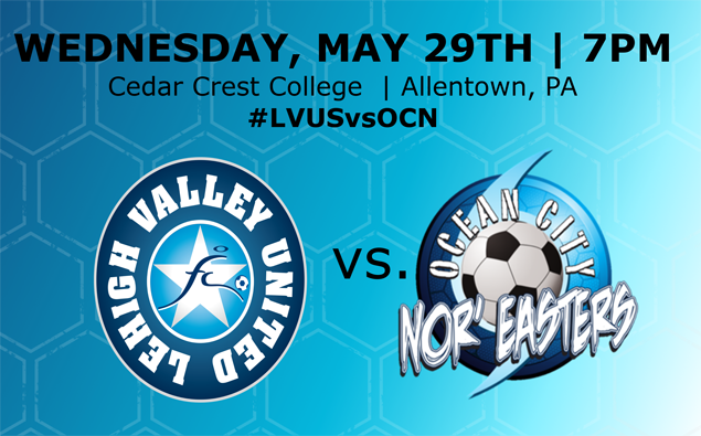 Preview: Nor'easters travel north to take on Lehigh Valley United on Wednesday night