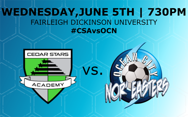 Preview: Nor'easters meet Cedar Stars Rush for first time in Wednesday tilt