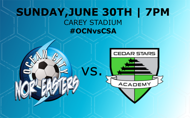 Preview: Nor'easters go for weekend sweep Sunday at Beach House vs. Cedar Stars