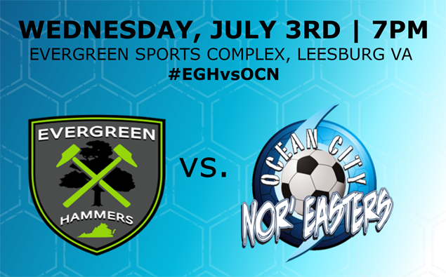 Preview: Nor'easters face Evergreen FC in must-win final road game of season tonight