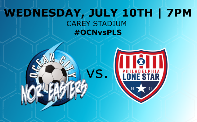 PREVIEW: Nor'easters host NPSL's Philadelphia Lone Star FC in Wednesday night friendly