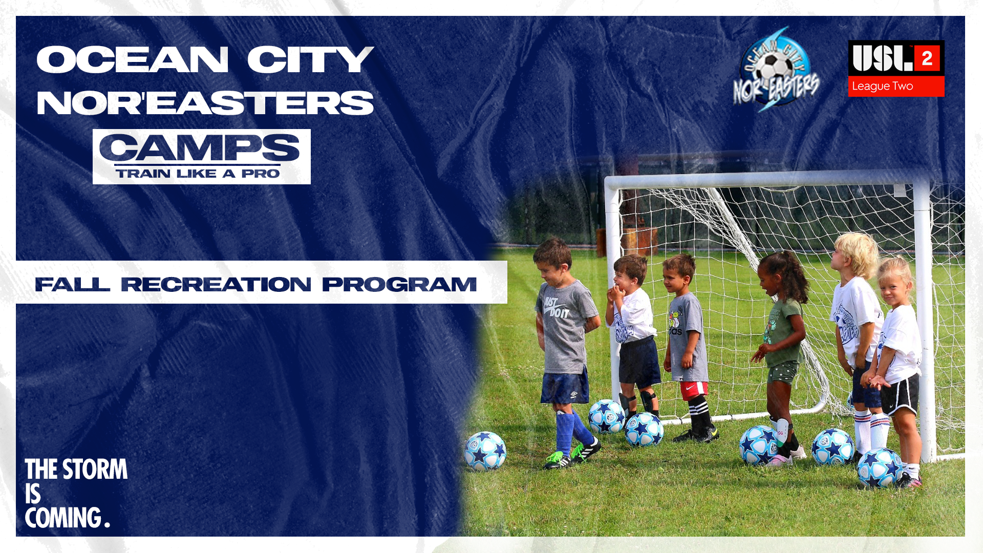 Sign up today for Nor'easters 2021 Fall Recreation program