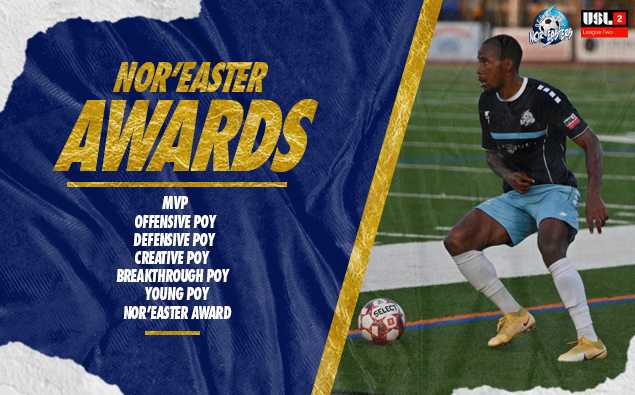 Neville Morgan named Nor'easters MVP, Defensive Player of the Year
