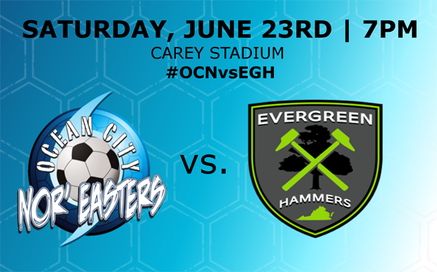 Preview: Nor'easters welcome Evergreen FC to the Beach House tonight