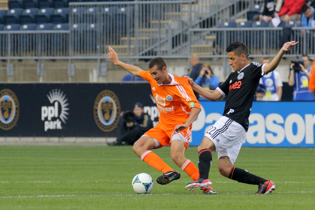 Nor'easters' upset of Philadelphia Union spoiled on controversial stoppage time goal