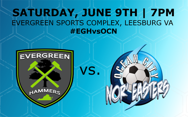 Preview: Nor'easters travel to Virginia to take on Evergreen FC Saturday night (live video)