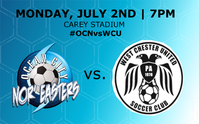 Preview: Nor'easters host West Chester United for some Monday Night Football