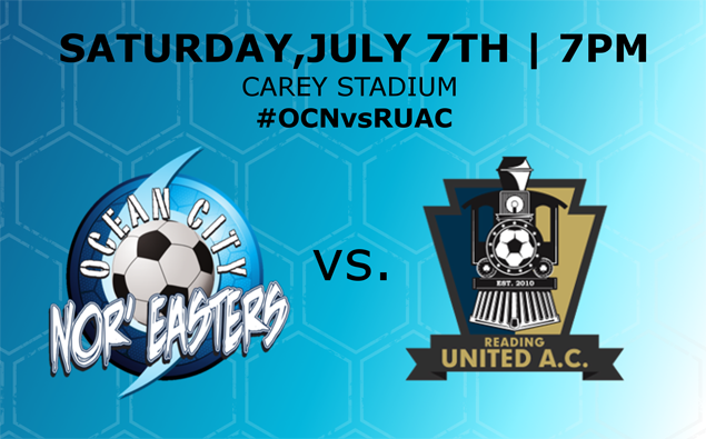Preview: Nor'easters host rivals Reading United in massive game on Youth Soccer Night on Saturday