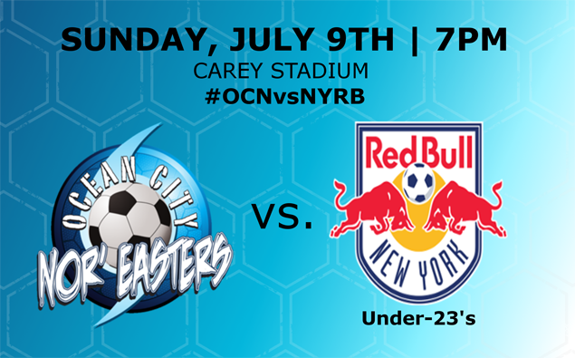 PREVIEW: Nor'easters host New York Red Bulls U-23s at the Beach House tonight