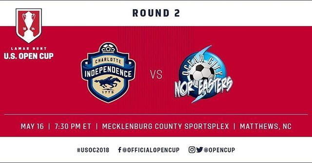 2018 US Open Cup: Nor'easters upset another pro team, 3-1 over Charlotte Independence