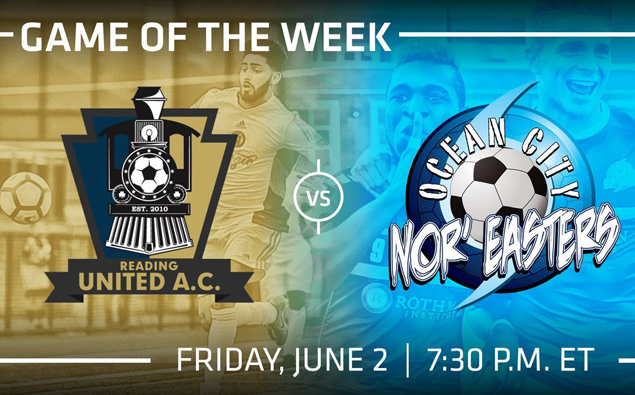 PDL Game of the Week: Nor'easters, Reading United renew one of league's oldest rivalries (live video)