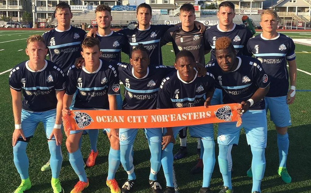 Three straight second half goals leads Nor'easters to win over Jersey Express